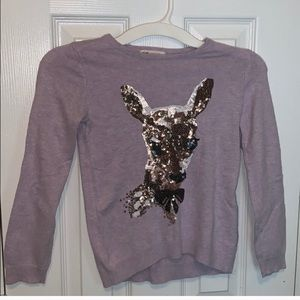 H&M Sequined Sweater